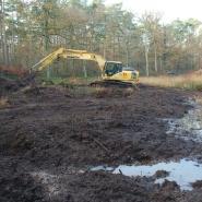 Anlage eines Kleingewässers 02, Foto: W. Itjeshorst