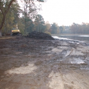 Entschlammtes Ufer 1, Foto: W. Itjeshorst